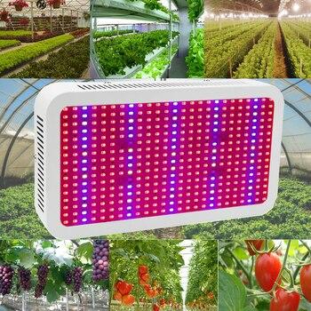 LED Wachsen Licht Panel | Volle Geführte Spektrum Wachsen Licht 400 W Led Wachsen Lampe Rot + Blau + IR + UV Hydrokultur System Blume Anlage Obst Wachsen Box Zelt LED Panel