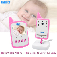 Hot Audio Video Baby Monitor 8 Lullaby Temperature Monitor Night Vision DIM Screen VOX Baby Assistant