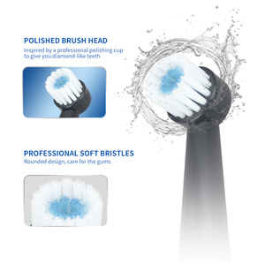 Image 3 - HERE MEGA Rotating Electric Toothbrush Super Waterproof Cleaning Rechargeable Teeth Power Ultrasonic Sonic Tooth Brush Adult R02