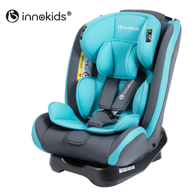 innokids child safety seat baby car seat two way installation of isofix interface of 0 7 years. Black Bedroom Furniture Sets. Home Design Ideas