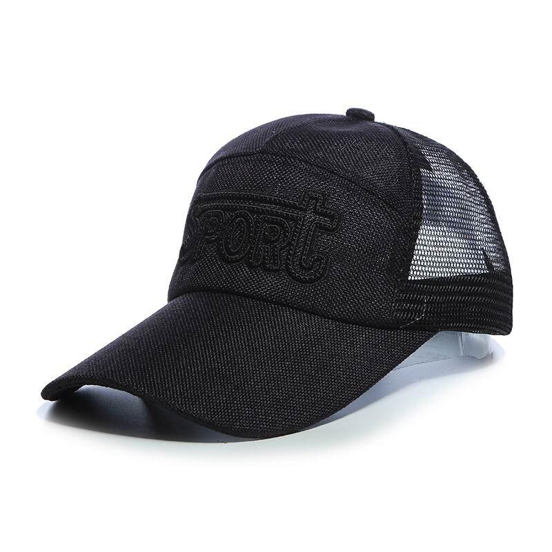 ok čepice jaro a léto prodyšná síťovina kšiltovka cool člověk módní klobouky aktivní stínování čepice levné