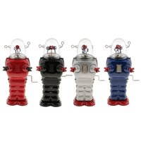 Vintage Robot Model Mechanical Nostalgic Classic Wind Up Toy Home Decoration Toys Birthday Gift for Children Kids Adults