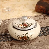 Lavish European Resin Ashtray 1