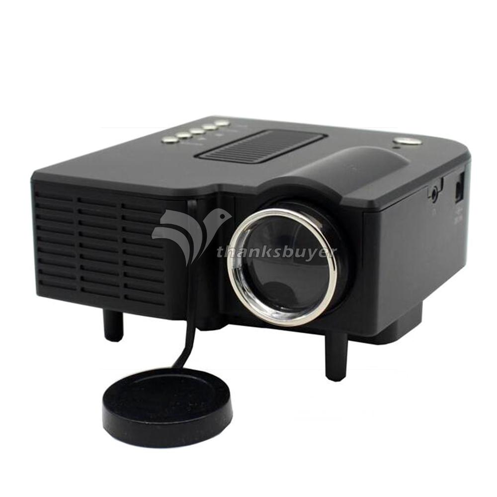 H30 Projector LED Micro 320x240 400 Lumens Beamer Cinemer Home Theater Projector