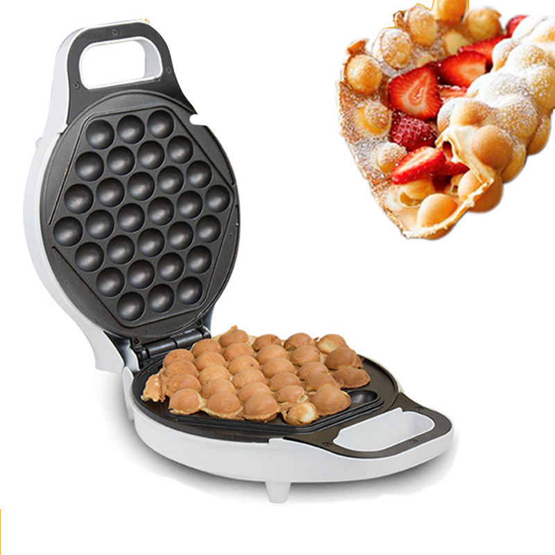 Kitchen Appliance Ratings Hood Vents Household Electric Egg Bubble Waffle Maker 30 Holes Double ...