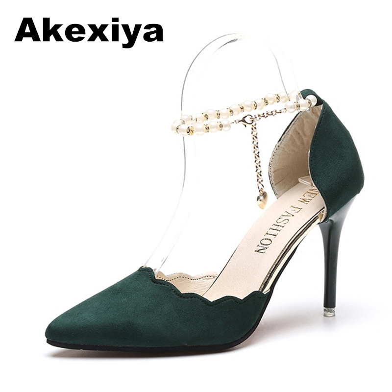 Akexiya 2017 Summer Women Shoes Pointed Toe Pumps Patent Leather Dress Shoes High Heels Boat Wedding Shoes tenis feminino 10cm женское платье summer dress 2015cute o women dress