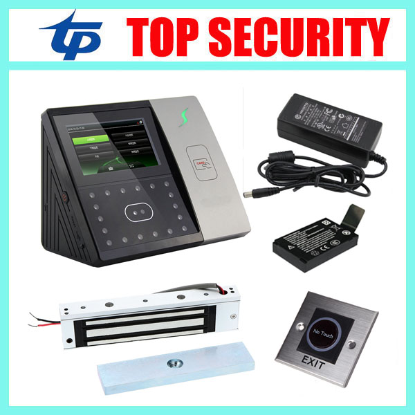 ZK iface701 face and RFID card time attendance TCP/IP linux system biometric facial door access controller system with battery tcp ip biometric face recognition door access control system with fingerprint reader and back up battery door access controller