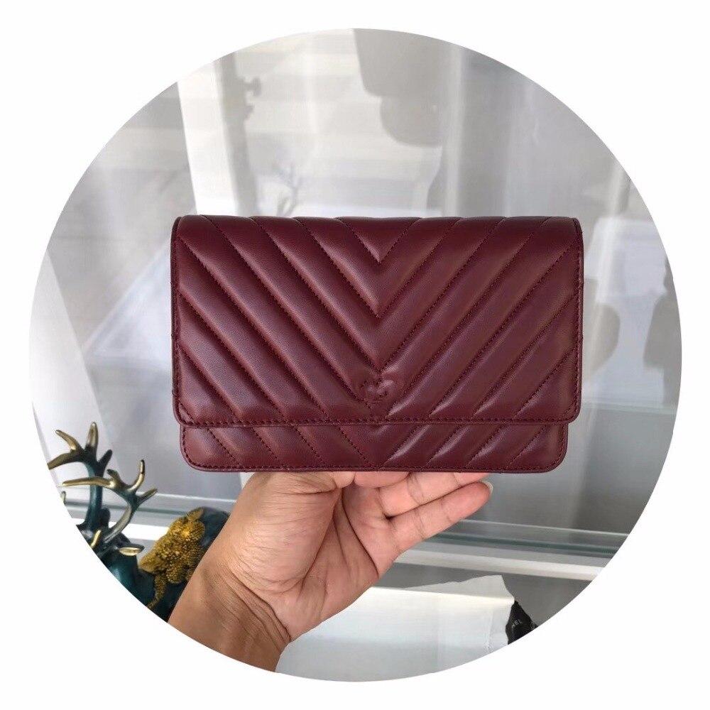 Geldbörsen Handtasche Wa01166 1 Designer Weibliche Frauen Echt 100 2 Runway Berühmte Qualität Leder Luxus Mode Marke Top Klassische xnpqZ8BvwS