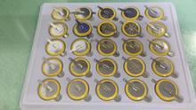 100% Nieuwe CR2025 Solderen Voet Batterij 3V Batterij 180 Graden Solderen Voet Batterij Smd Solderen Voet Batterij
