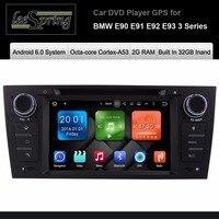 Android 6.0 Auto DVD-Player Für BMW E90 E91 E92 E93 3 Serie Radio Gps-navigationssystem