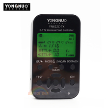 YONGNUO YN622C-TX E-TTL Беспроводная вспышка контроллер YN622C E-TTL Радио вспышка трансивер поддержка для всех Canon Зеркальные фотокамеры