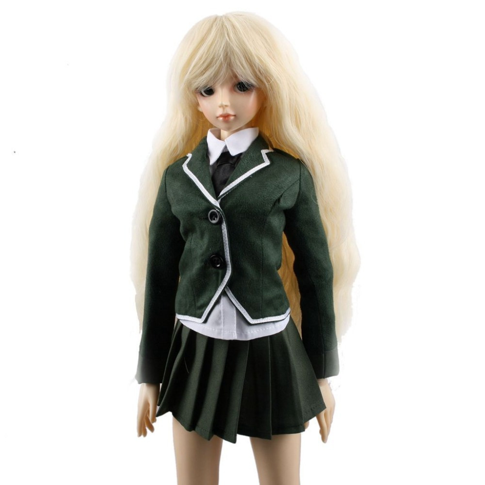 PF Uniform Suit For 1//4 1//6 BJD Doll Dollfie Outfits Hand Made