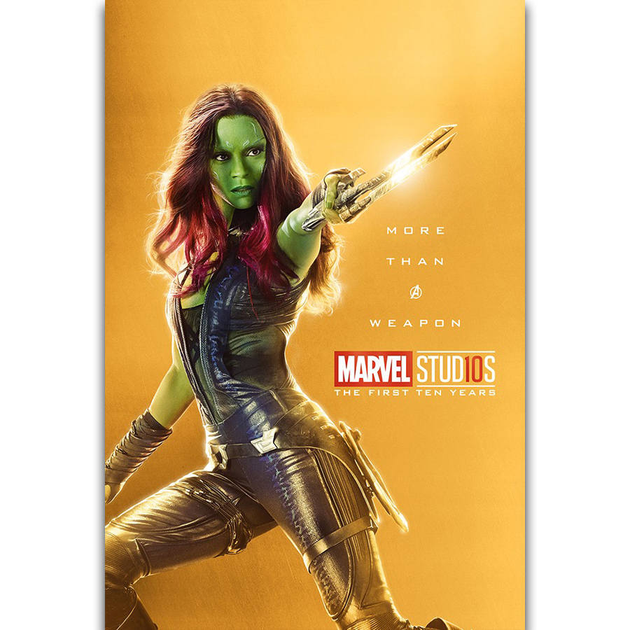 S1480 The Marvel Studios The First Ten Years Superhero Mantis Wall ...