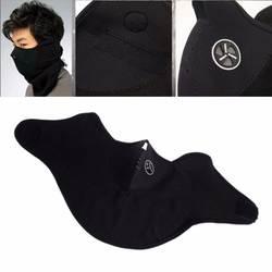 Ветрозащитная маска для лица утепленная Флисовая Балаклава Шапка капюшон 6 в 1 Лыжная велосипедная Шея Теплый зимний флисовый мотор