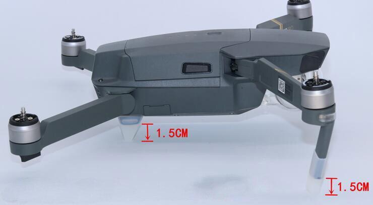 ФОТО dji mavic pro accessories shock-resistant silicone gloves mavic pro enhancement extension stretcher