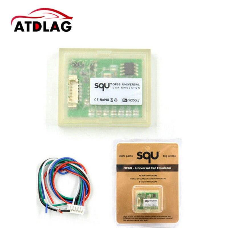Emulador Universal de coche, 10 Uds. SQU OF68 OF80, Mini piezas, compatible con IMMO/sensor de ajuste de asiento/programas de Tacho