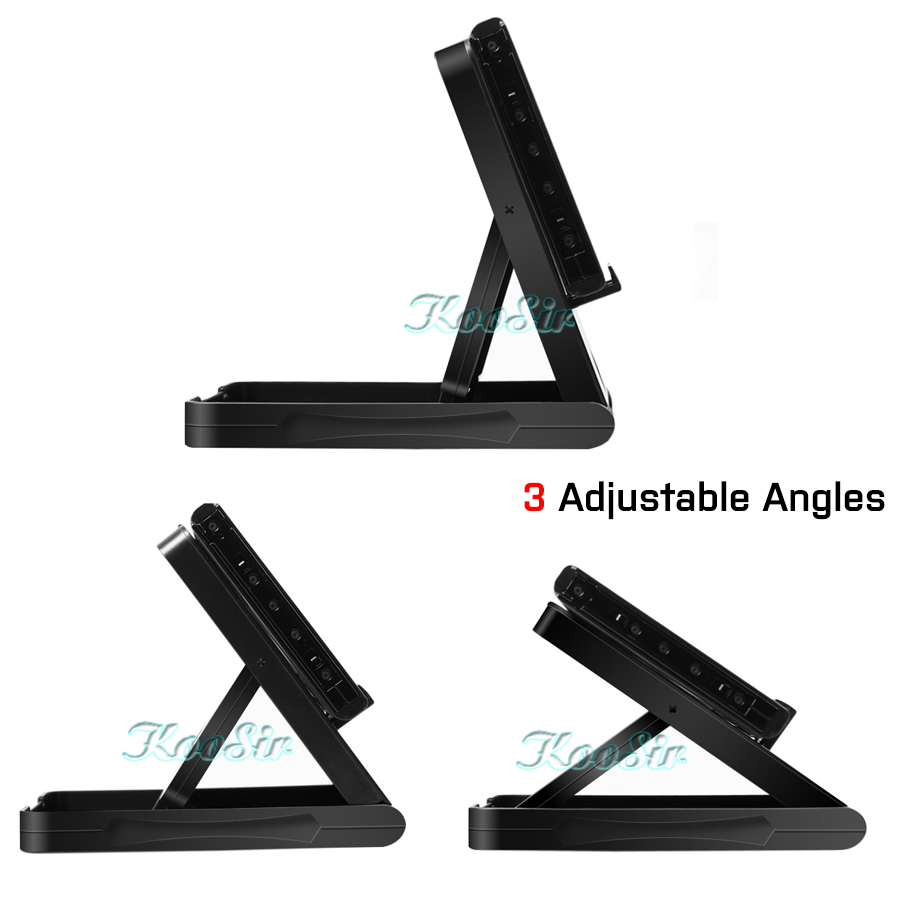 Image 3 - Nitendo Nintend Switch Accessories Console Storage Adjustable Portable Play Stand Nintendoswitch Carrying Case Bracket Holder-in Bags from Consumer Electronics