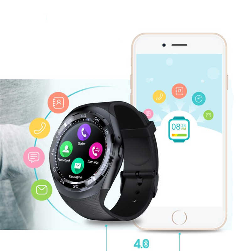 8d753d6344c9 Bluethooth Смарт-часы q7 reloj inteligente мужские и женские часы  сердечного ритма Фитнес трекер Smartwatch