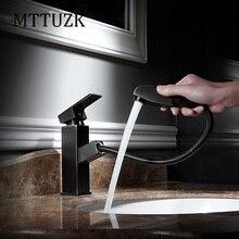 Mttuzk вытащить золото/черный/Orb кухни Медь раковина Никель щеткой кухня смеситель квадратный Смесители/ванной смеситель