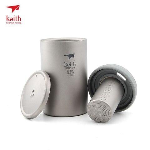 isolado cafe cha pote com um filtro cestas 450ml ti3521