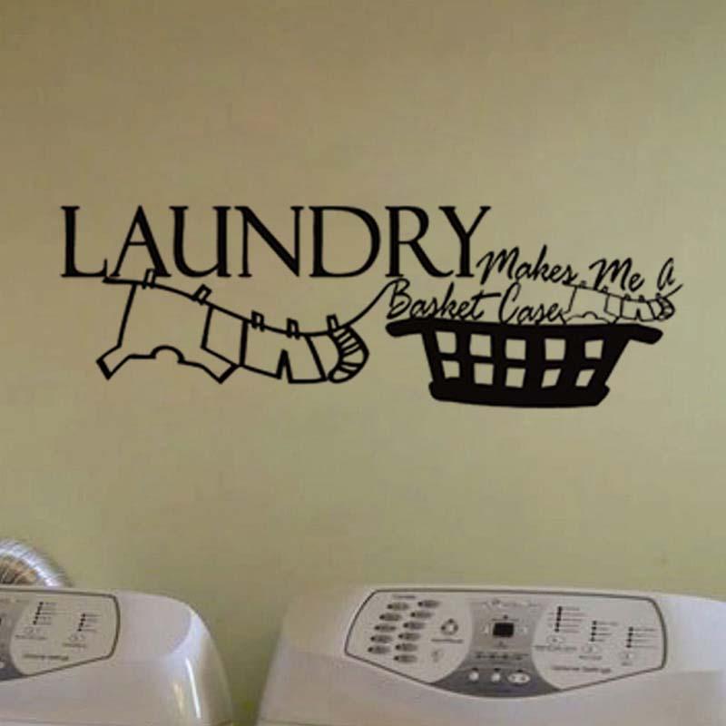 hot lavanderia bagno vasca da bagno adesivi murali complementi arredo casa wc decalcomania diy rimovibile adesivi
