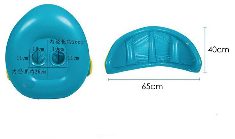 Baby Kids Summer Swimming Pool Swimming Ring Inflatable Swan Swim Float Water Fun Pool Toys Swim Ring Seat Boat Sport for 3-6Y (20)