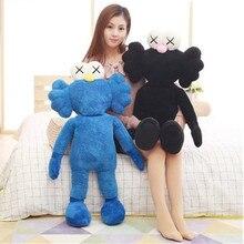 Kawaii популярные большие плюшевые куклы оригинальная поддельные Kaws BFF мультфильм аниме 50/70/90 см Брайан стрит-арт игрушка S529