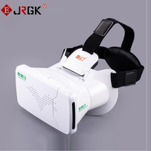 JRGK 3 Gafas VR Virtual Reality 3D VR Glasses Head Mount Helmet Cardboard for iPhone 6S 6 Samsung 3.5-6 inches Smartphone new