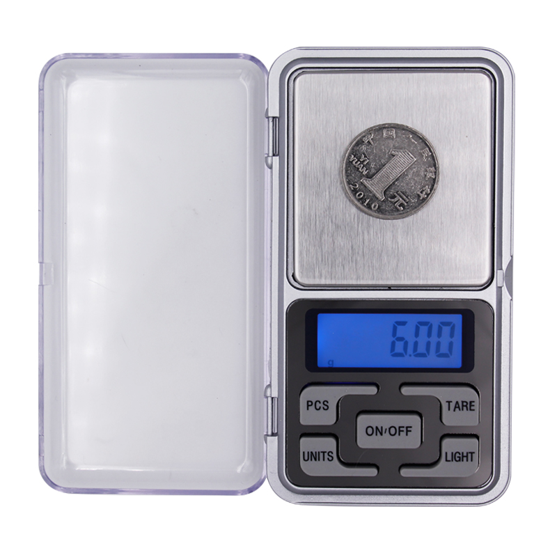 by DHL FEDEX 50pcs/lot g/ oz/ ct/ gn 0.01 g - 200 g balance weight digital with backlight pocket jewelry small electronic scales