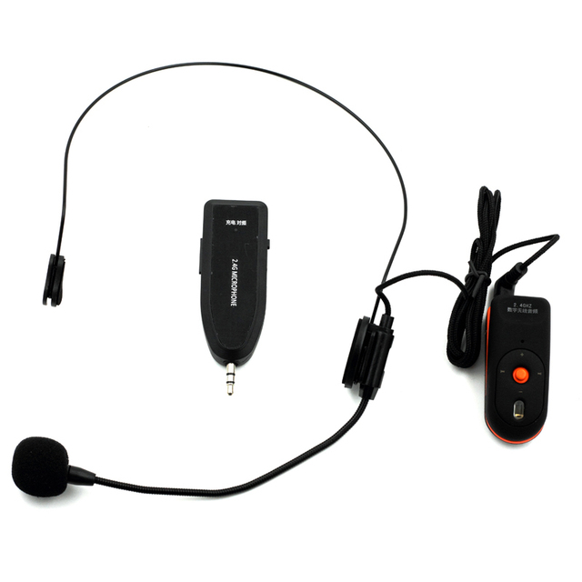 OXLasers OX-304C Новый 2.4 Г гарнитура беспроводной микрофон с 3.5 мм разъем приемник для конференц-школа бесплатная доставка