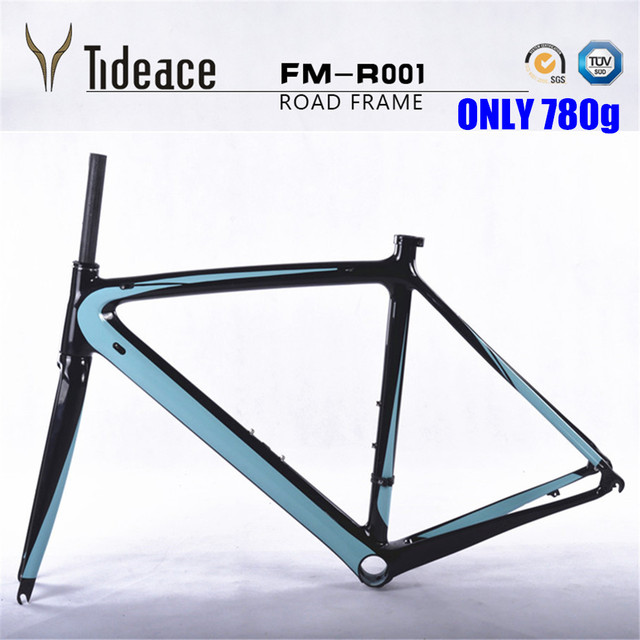 Cheap Free Shipping 2017 Newest carbon Road Bicycle Frameset red black Carbon Frame road bike Size 50/53/55cm carbon road frame