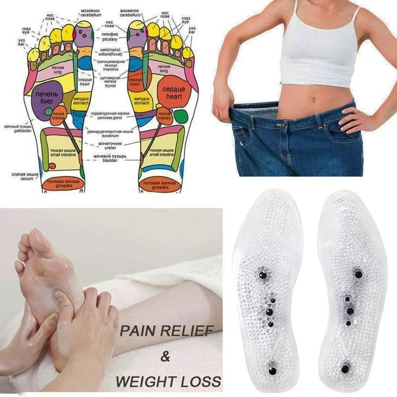 New MindInSole Acupressure Magnetic Massage Foot Therapy Reflexology Pain Relief