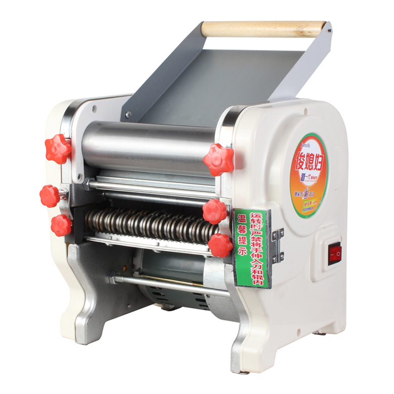 220V Commercial Home Stainless Steel Electric Pasta Press Maker Noodle Machine 160/180/200mm FMK200 commercial household 6l stainless steel bench top electric pasta facial machine electrothermal powder cooker 220v my 6lf 1pc