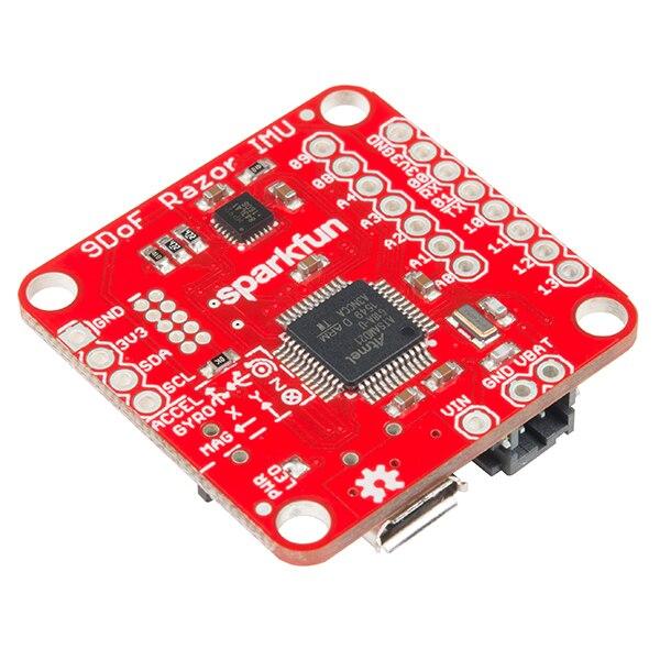9DoF Razor IMU M0 9 Axis Attitude Sensor MPU-9250 9 Axis Sensor seeedstudio grove imu sensor board