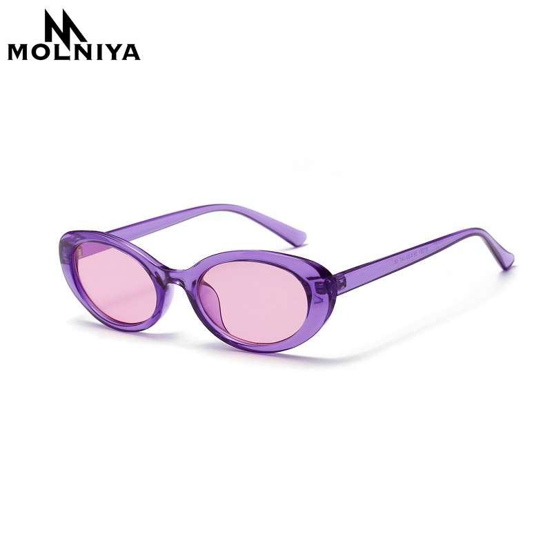 MOLNIYA Small Oval Sunglasses Ms. 2018 Designer High Quality Cool - Kledingaccessoires - Foto 3