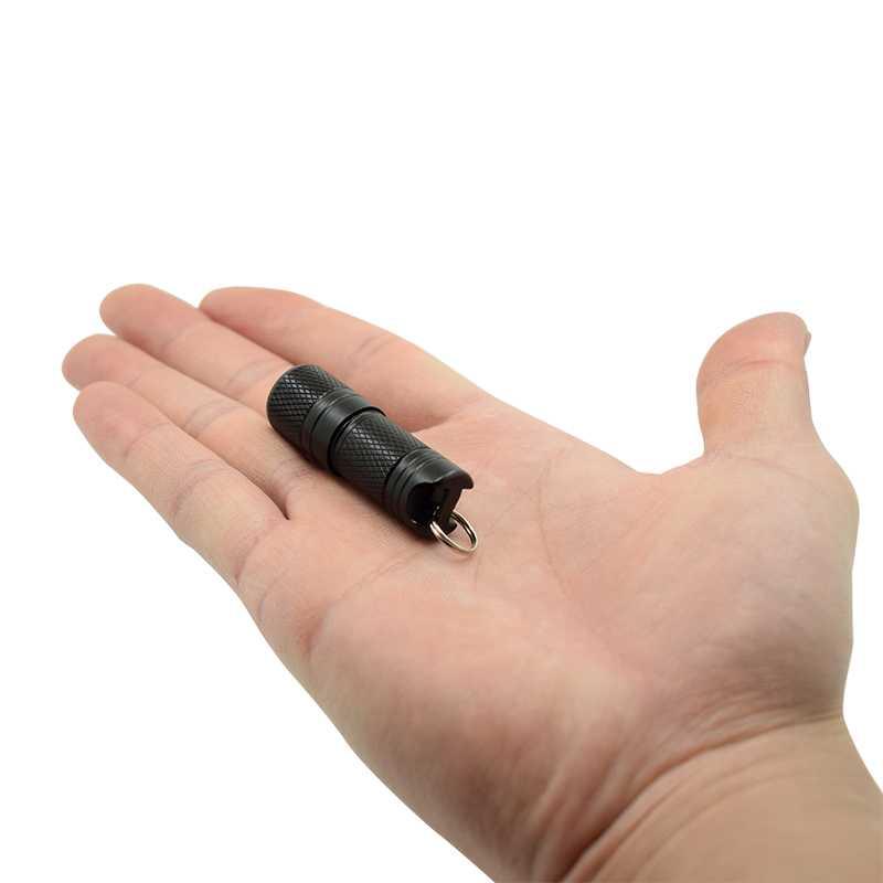 Neue Tasche Mini LED Taschenlampe USB Wiederaufladbare Tragbare Wasserdicht Weiß Licht Schlüsselanhänger Taschenlampe Super Kleine Lanterna mit Batterie