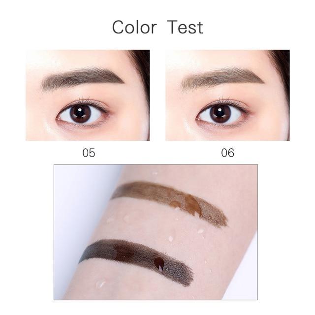 BONNIE CHOICE Microblanding Tattoo Eyebrows Pencil Waterproof Natural Eye Brow Long Lasting 4 Head Fine Sketch Enhancer Makeup 3