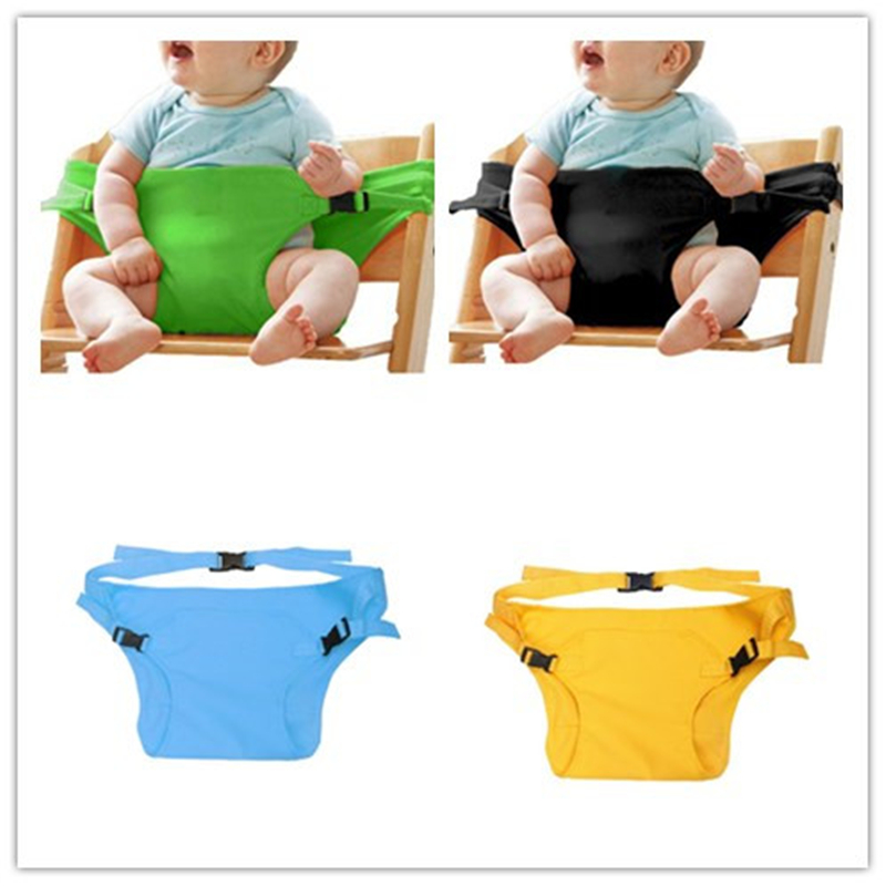 Baby Stretch Wrap Safety Belt Harness Baby Carrier Portable Infant Seat Lunch Dinning Chair Cover Harness Baby Chair Seat Lunch