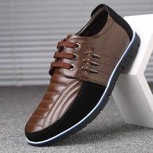 Мужская обувь из натуральной кожи; высокое качество; эластичная лента; Модный дизайн; Прочная прочная удобная мужская обувь; большие размеры ZY-251