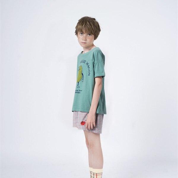 BOBOZONE 2021 NEW BOBO loose t-shirt for kids boys girls summer tee tops 5