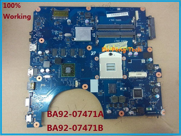 Hot sale Laptop Motherboard for Samsung R540 BA92 07471A BA92 07471B BA41 01353A Mainboard