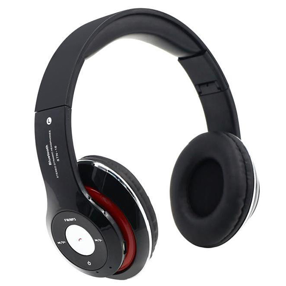 4 IN 1 Multifunction Headphones Bluetooth Wireless Stereo Headphones Sport Music MP3 MP3 Insert Micro-SD / TF / FM Card ks 509 mp3 player stereo headset headphones w tf card slot fm black