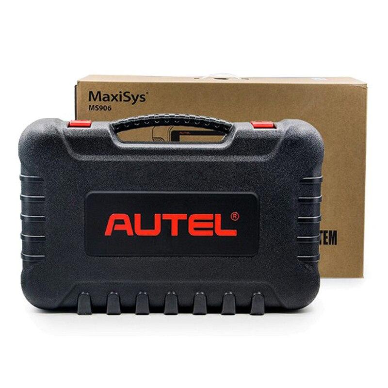 Image 5 - Autel MaxiSys MS906 OBD2 сканер автомобильный диагностический инструмент MS 906 ключ Программирование код ридер OEM инструменты кодирование ключей подарок AL539B-in Анализатор двигателя from Автомобили и мотоциклы