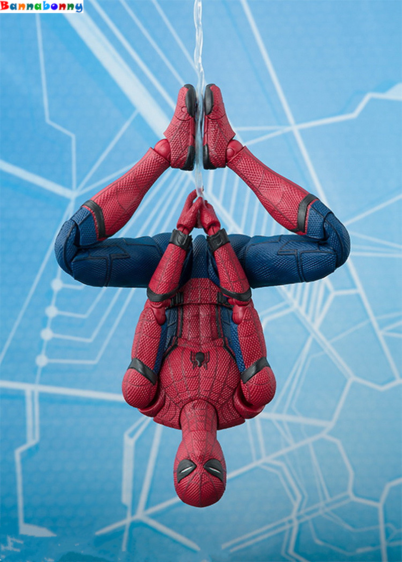 Spiderman Spider Man Homecoming PVC Action Figure Collectible Model Toy 15cm superhero spiderman movable figure spider man homecoming pvc action figure model toy boxed