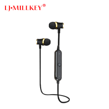 S6 Bluetooth Headset Athlete Wireless Earphone BT4.1 Sports Stereo Earbuds with Mic for Smartphones Gym LJ-MILLKEY RBD001