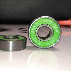Ilq11 ABEC-7 ILQ-9 pro scrs aço cromado patins inline 608 rolamento de rolo skate seba alta hv igor ksj powerslide evo skate
