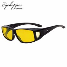 CGXM1805 Eyekepper Fitover Anti-Blue Blocking Computer Glasses with Yellow Tinted Lenses Anti Reflective,Glare and Eyestrain(China)