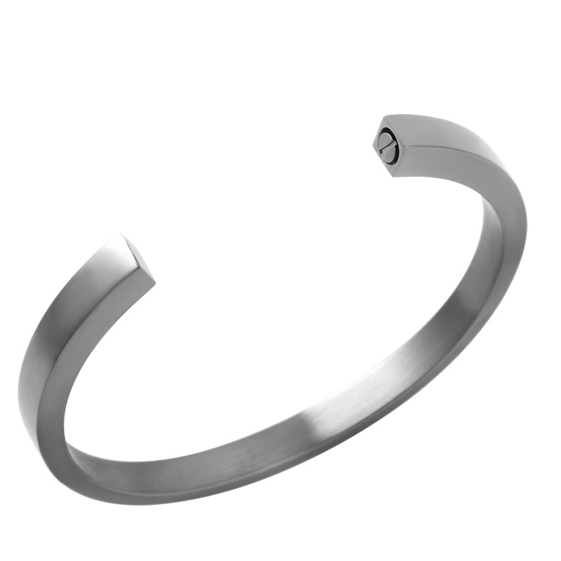 10Pcs Lot Engravable Stainless Steel Cremation Urn Bracelet with Hidden Screw for Human Ashes Memorial Jewelry