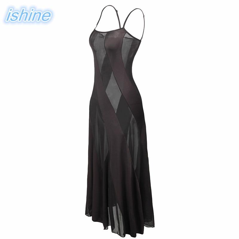 2018 New Mesh Nightgown Women Sleepwear Ladies Sexy Lingerie Babydoll Nightdress Sleepshirts Homewear Plus Size 5XL 1