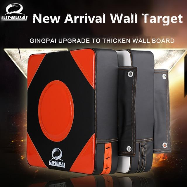 High quality Thicken Boxing target durable PU Punching pad MMA kick muay thai square hang wall target TKD martial arts punch pad
